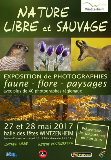 Affiche Nature Libre et Sauvage 2017
