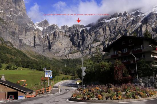 Le col de la Gemmi est un col de Suisse culminant à 2 314 mètres