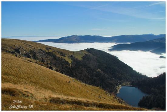 Vue sur le Lac de Schiessrothried