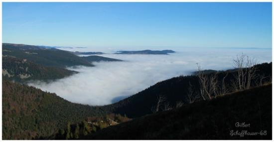 Mer de brouillard vue du Hohneck