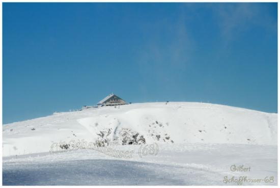 Restaurant au sommet du Hohneck le 21.01.2012
